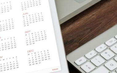 Calendario Fiscal de Abril de 2019