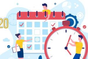 Calendario Fiscal para aútonomos 2020
